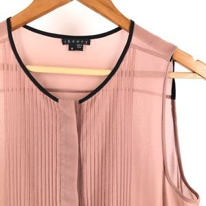 Theory Maikoda - Soft Shirting Top